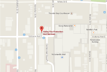 Valley Fire Location